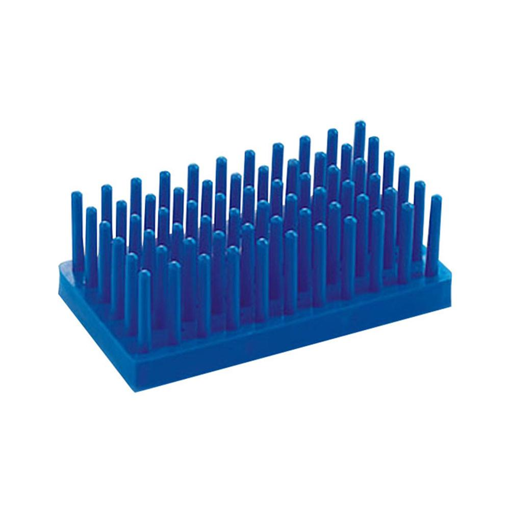 Column Test Tube Rack Laboratory Storage Holders Centrifuge Tube Rack Lab Supplies Pillars Experimental Consumables Blue Yellow