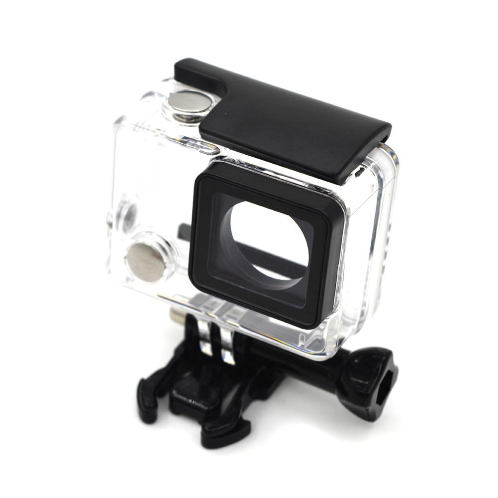 TWISTER.CK Diving Transparent Waterproof Safe Protective Shell Case For Gopro HERO 4/3+/3 Camera Accessories