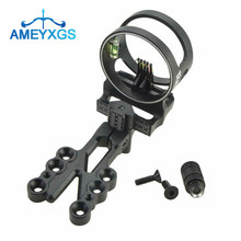 1pc Archery Compound Bow Sight 5 Pin 0.019
