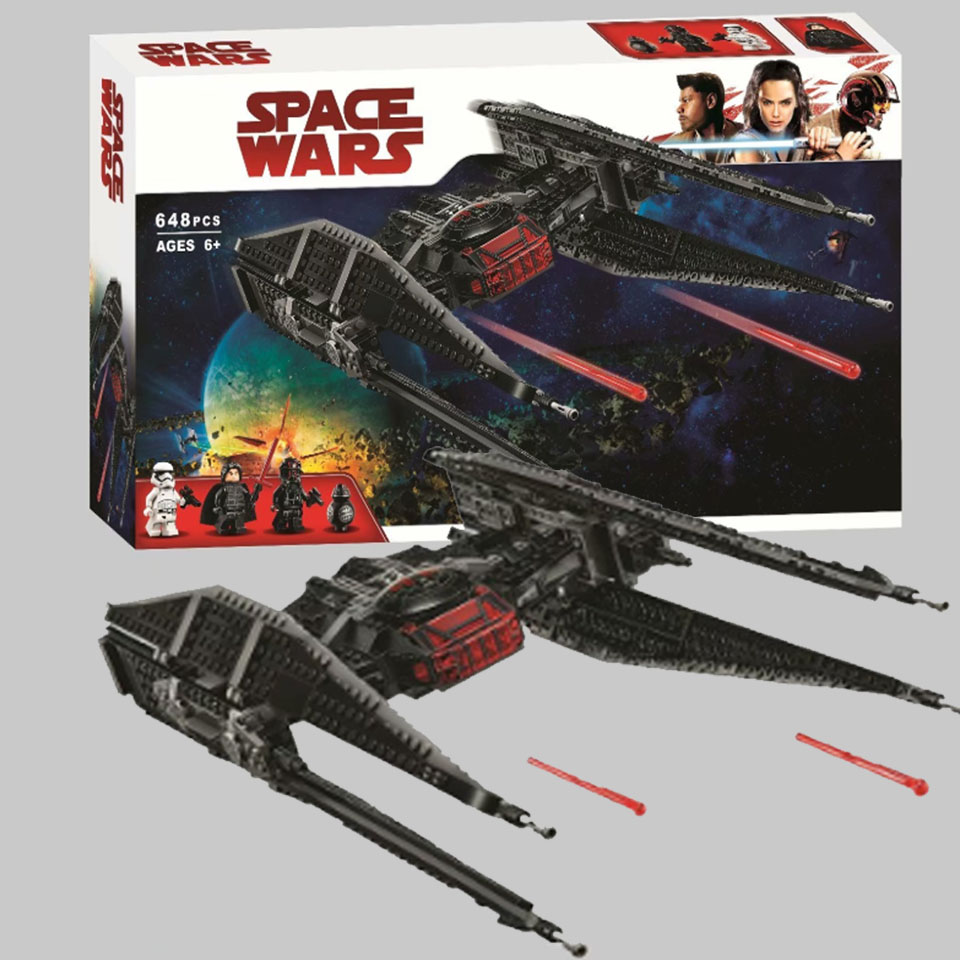 NEW Star Wars Series TIE Fighter Building Block Model Bricks Toys Compatible with legoinglys 10907 Toys for Children Gifts
