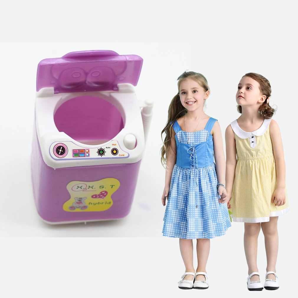 حار موضة دميات لعبة صغيرة غسالة القطع البلاستيكية لأفضل فتاة فتاة الدمى يعرض للأثاث