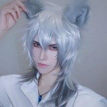 Neue MMGG Hand arbeit Fuchs Katze Wolf Tier Ohren Hairhoop Weiß Schwarz Rot Mix Farbe Headwear für Halloween Weihnachten Party