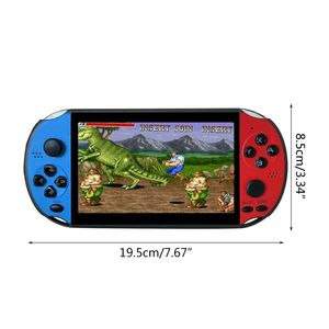 "Image 4 - X12 5.1"" Colorful Screen Retro Game Console 128Bit Handheld Game Host Machine"