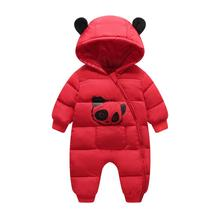 Baby Romper Spring Winter Hooded Warm Baby