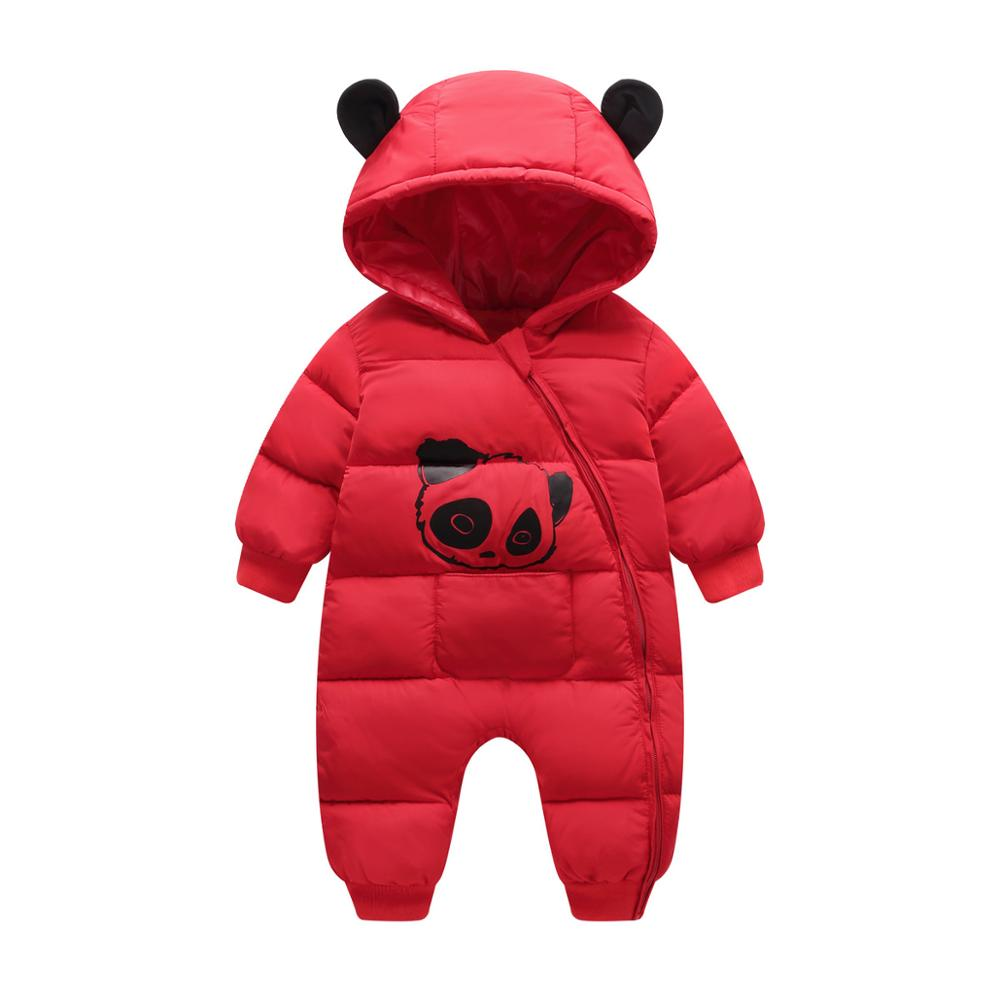 Baby Romper Spring Winter Hooded Warm Baby Girls Clothes Baby Jumpsuit Snowsuit For Newborn Boys Overalls Unisex Baby Clothes