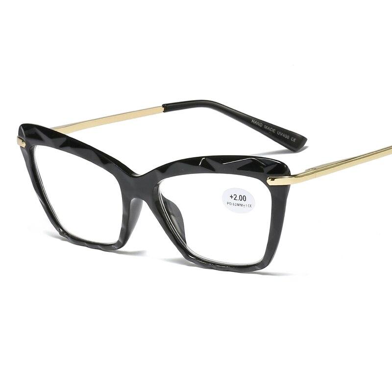 Lonsy модные сексуальные очки для чтения «кошачий глаз» Женская