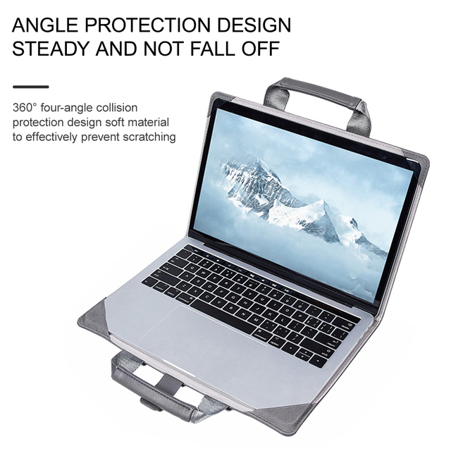 Macbook Air 12″ Pro 13.3″ 15.4″ Notebook Cover Laptop Case Business Waterproof Computer Sleeve Leather For Macbook Series