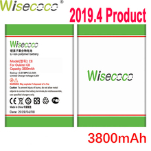 WISECOCO 3800mAh Battery For Oukitel C8 5.5inch Mobile Phone In Stock Latest Production High Quality Battery+Tracking Number