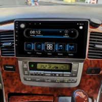 1din Android 9,1 8Core Ram4g Rom64g auto multimedia-player für Toyota alphard mit DSP Carplay 4G navigation stereo radio