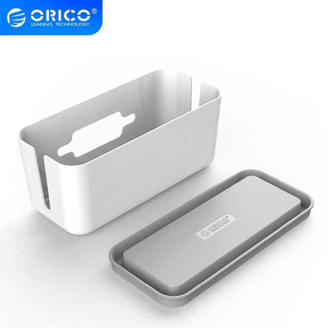 ORICO Storage Box Protect Box Power Strip Box for Adapter Wire/Charger Line/USB Network HUB Cable Management Box