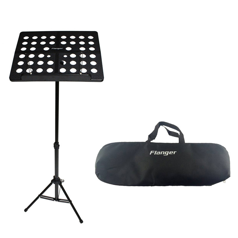 Portable Aluminum Alloy Music Stand Foldable Stand Holder Adjustable Musical Instruments For Piano Violin Guitar Sheet Music