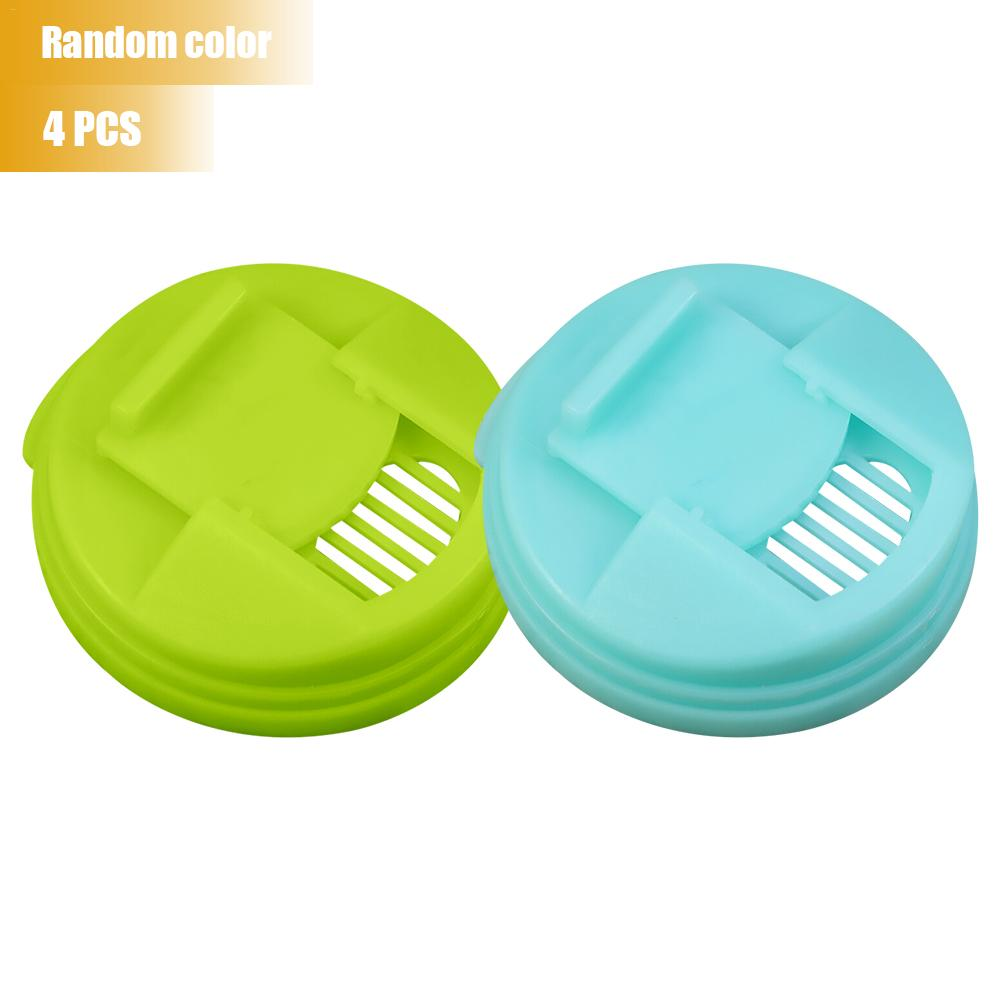 4PCS Reusable Soda Saver Pop Beer Beverage Can Cap Top Cover Lid Protector