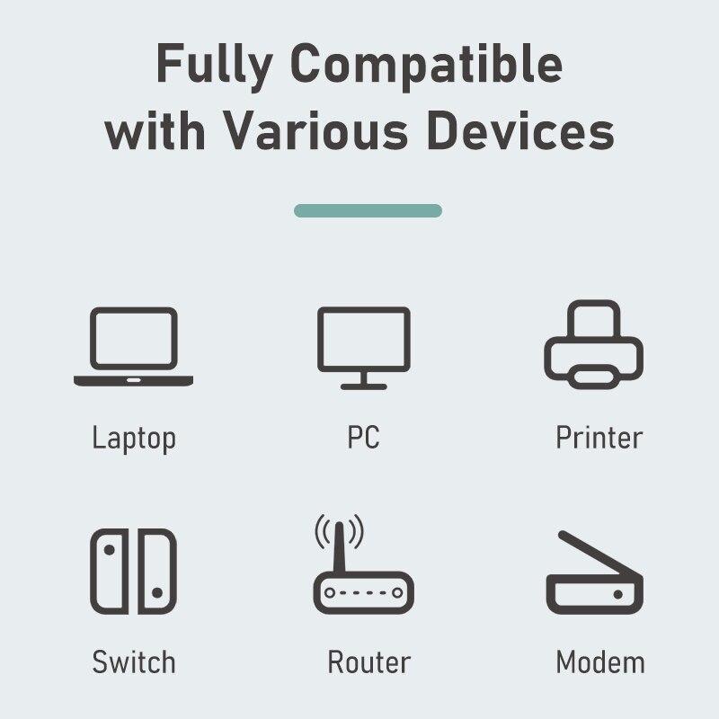 CABLETIME USB Ethernet Adapter 1000Mbps USB 3.0 2.0 LAN RJ45 Adapter for Laptop Nintendo Switch Macbook Air USB LAN C358 6