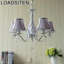 Industrial Decor Gantung Led Hanglampen Crystal Lampen Modern Lampara De Techo Colgante Moderna Deco Maison Hanging Lamp