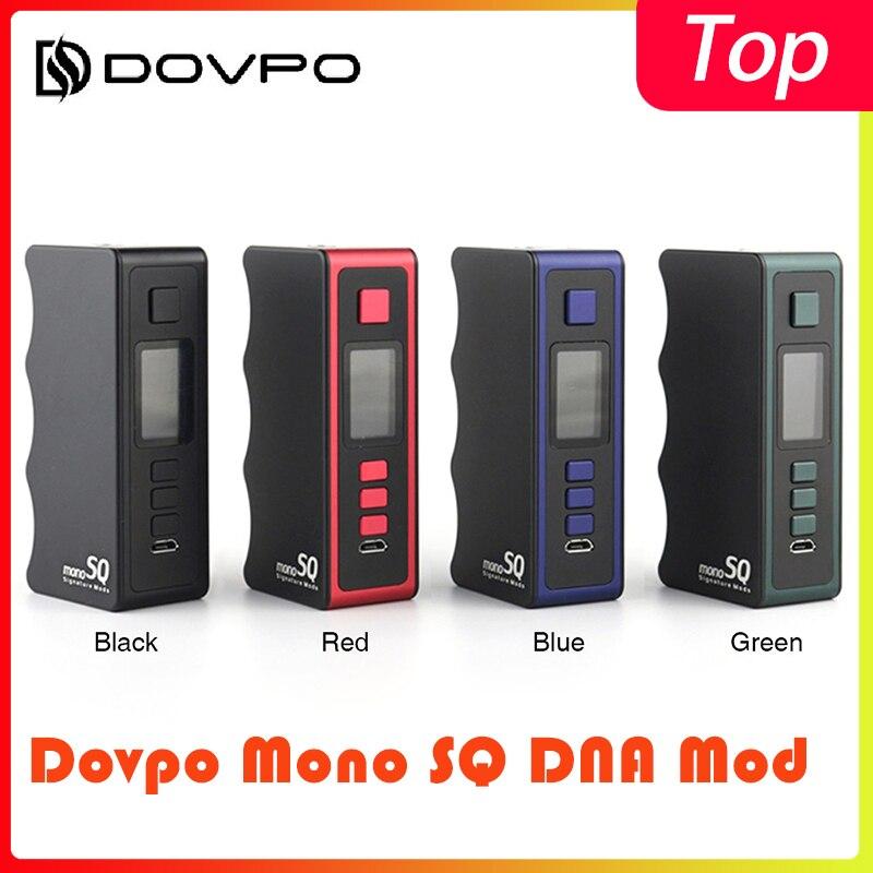 Original Dovpo Mono SQ DNA 75C Signature Mods Power By 18650 Battery Box Vape Mod