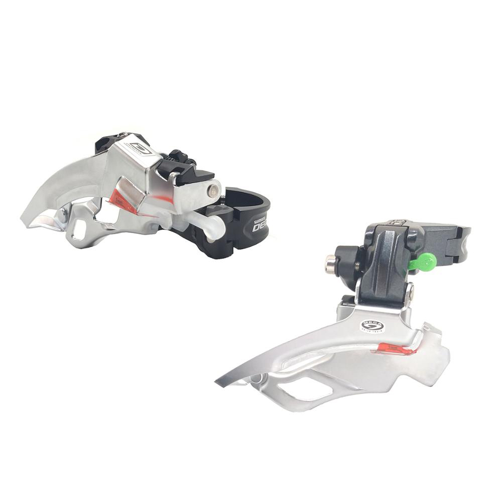 side swing front-pull Shimano SLX M7000-H triple 10-speed front derailleur