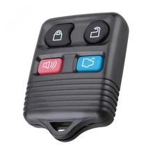 цена на 1pcs Black Durable 4 Buttons Keyless Entry Replacement Key Remote Fob Shell Case fit for Ford