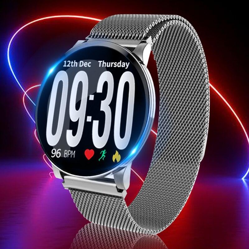 Moniteur de fréquence cardiaque montre intelligente avec pression sanguine oxygène tendance bracelet électrique Android Ios étanche Bluetooth hommes femmes