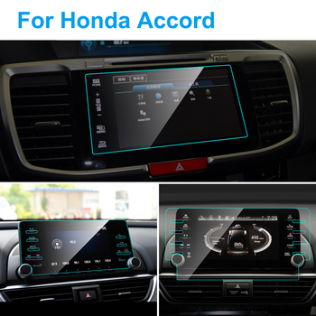 TPU Car GPS Navigation Screen Protector for Honda Accord Screen TPU Protective Film Automobile Interior Stickers Car Accessories image