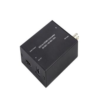 Support 3D, HD, 3g-sdi input sdi-hdmi HD Video Converter for HD digital 3g-sdi to HDMI signal цена 2017