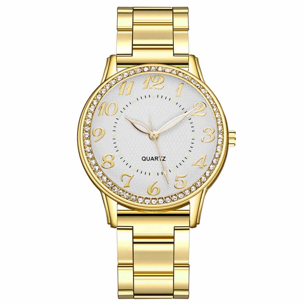 นาฬิกาผู้หญิง 2020 นาฬิกาแฟชั่นผู้หญิงนาฬิกา Reloj Mujer Relogio Feminino ใหม่ CLASSIC Luxury Rhinestone นาฬิกา
