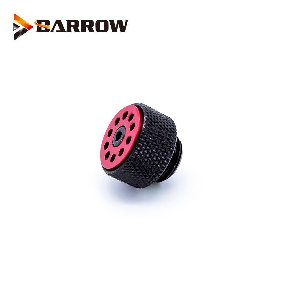 Купить с кэшбэком Barrow Release Air Plug G1/4'' Sealing Lock Brass Automatic+Manual Exhaust Valve Air Evacuation Valve for Water Cooling System