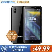 DOOGEE X50 mobile phone Android 8.1 MTK6580M Quad-Core 1GB RAM 8GB ROM Dual Came