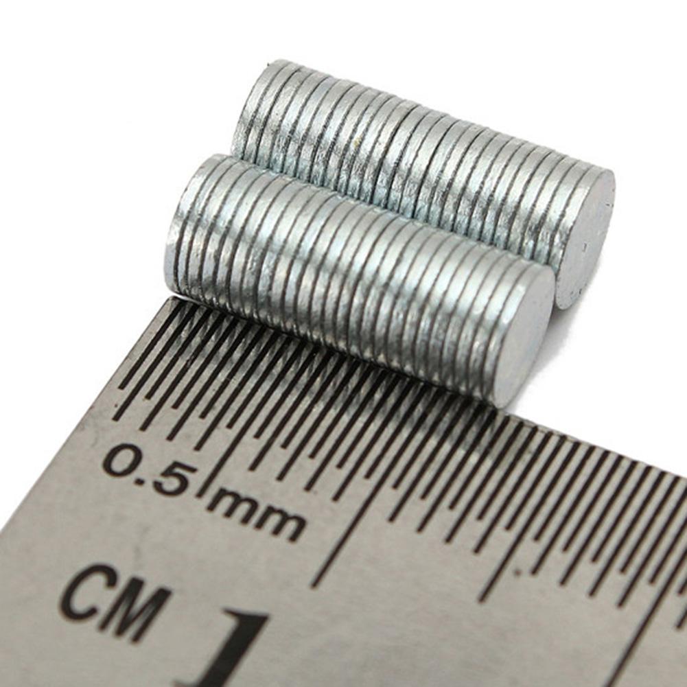 50Pcs 5x0.5mm N35 Multipurpose Super Strong Rare Earth Neodymium Magnet Round NdFeB Permanent Disc Blocksd