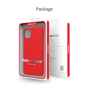 Image 5 - עבור iphone 11 2019 כיסוי Nillkin טהור רך נוזל סיליקון גומי עטוף מקרה אנטי הלם טלפון מעטפת עבור iphone 11 Pro מקסימום