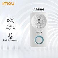 Timbre inalámbrico Dahua imou, timbre inteligente con alarma, altavoz para el hogar, timbre electrónico de seguridad (sin batería)