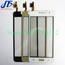 50 sztuk panel dotykowy do Samsung Galaxy Grand Prime G531 G530 G532 ekran dotykowy Digitizer przedni zewnętrzny ekran szklany obiektyw