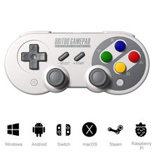 8bitdo SN30 Pro SF30 Pro Gamepad pour Nintendo Switch Android MacOS Vapeur Windows PC Manette Contrôleur de Jeu Sans Fil Bluetooth(China)