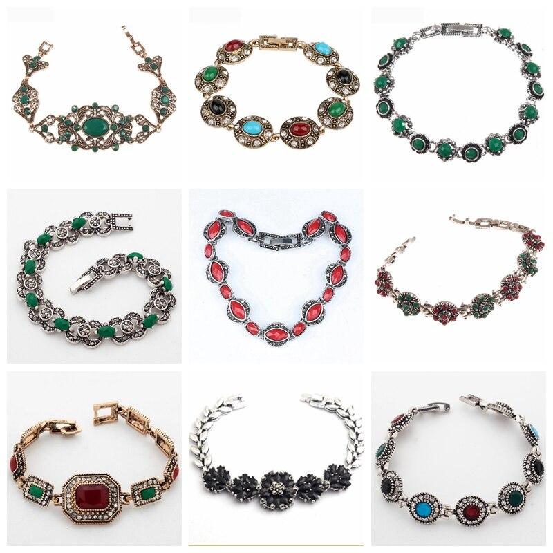 32 разных стиля, Тибетский белый цвет, фотообои для женщин, женские винтажные браслеты, оптовая продажа