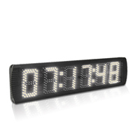 Hot selling 5 LED countdown timer clock digital sports dog race timing clock large led stopwatch with count up function