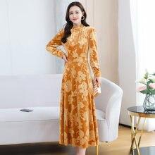 Осенние платья для женщин в африканском стиле Одежда Элегантный