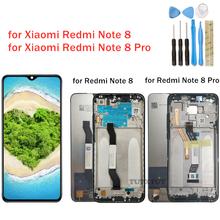 Dla Xiaomi Redmi Note 8 Pro wyświetlacz LCD ekran dotykowy Digitizer montaż Redmi Note8 wyświetlacz LCD z częściami do naprawy ramy tanie tanio CN (pochodzenie) Pojemnościowy ekran 2160*1080 3 for Xiaomi Redmi Note 8 Global LCD IPS LCD capacitive touchscreen 16M colors