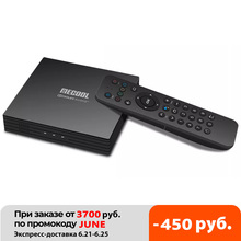 2021 Mecool KT1 Google מוסמך DVB T DVB T2 אנדרואיד 10.0 Amlogic S905X4 חכם טלוויזיה תיבה כפולה WIFI BT5.0 2GB 16GB סט Top Box
