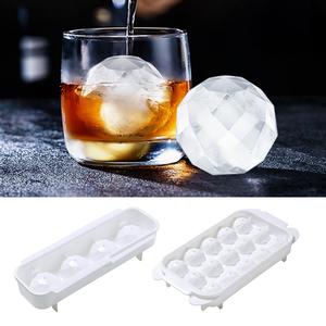 Wine Water Drink Ice Maker Cool Mold Mould Round Bar Tools Ice Cube Whiskey Ice Ball Mold Ice Cube Box