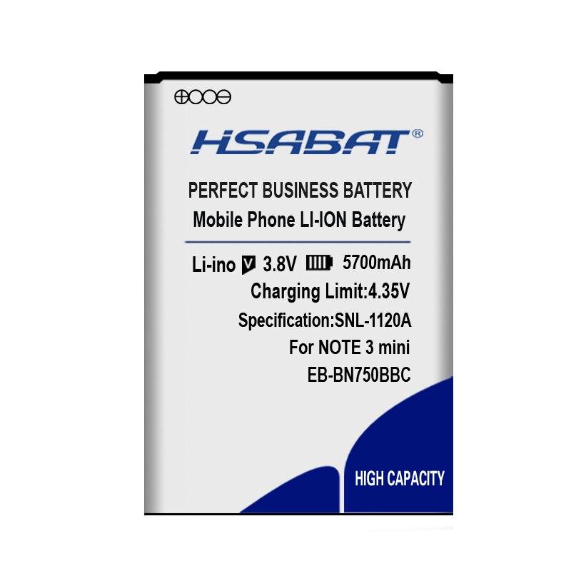 EB-BN750BBC batterie pour Samsung Galaxy Note 3 III Neo SM-N750 N7505
