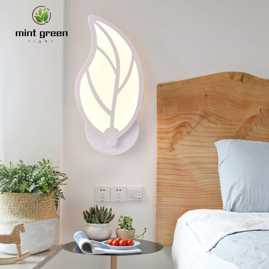 LED Light Modern Wall Lamp Acrylic Sconce 10W AC220V Flame Shape Indoor Bathroom Bedroom Living Room Hallway Art Decoration|Wall Lamps| |  - title=
