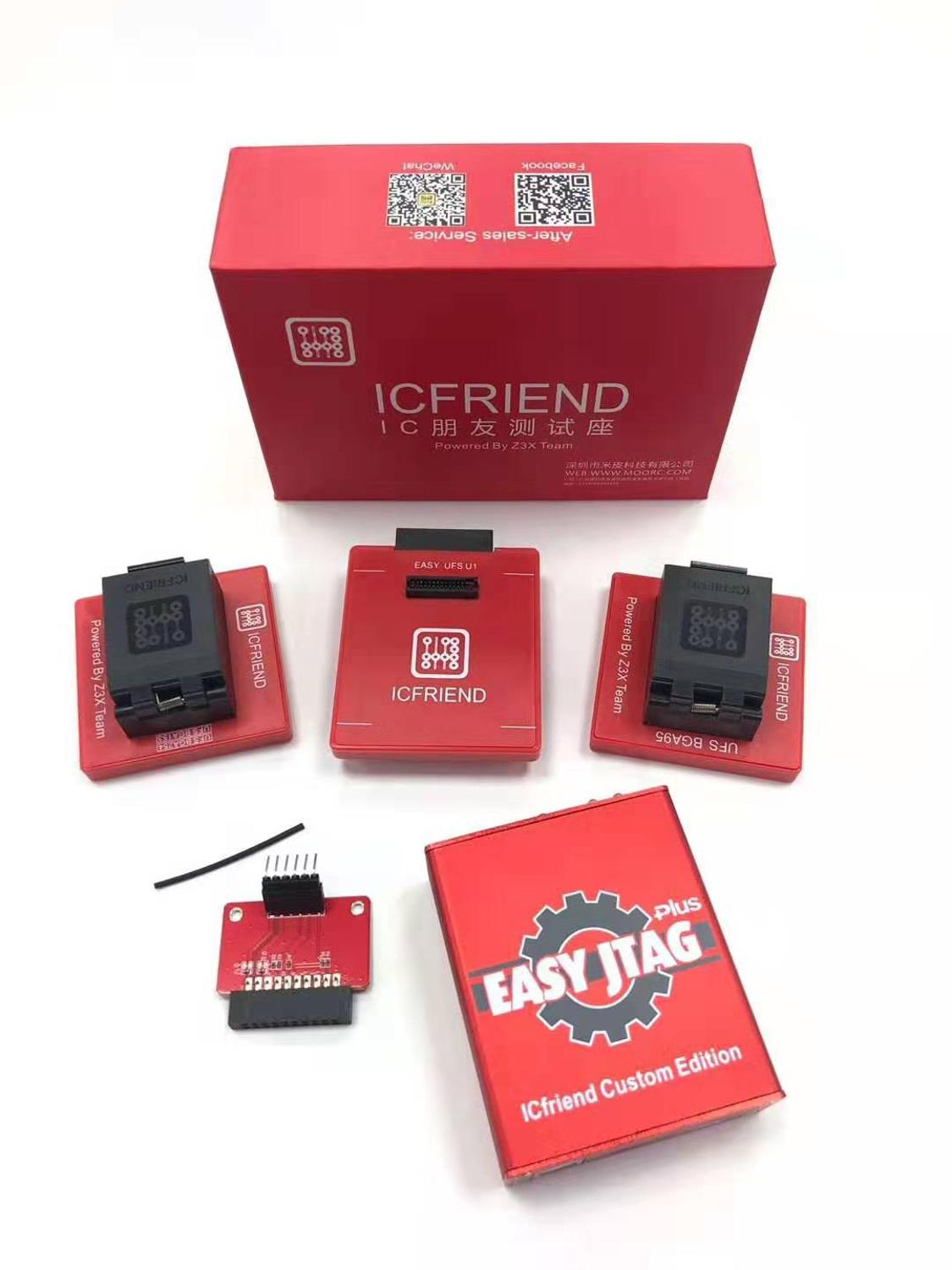 Z3x Pro Set ICfriend +easy Jtag Box 3 In 1 Pro Version