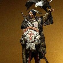 Miniature Model-Kits Resin-Figure Unpainted Fantasy Warrior Ancient 1/18-90mm Unassambled