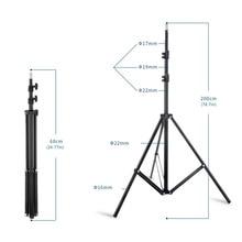 цена на Light Stand 195cm/78in tripod for Photo Video Lighting Flashgun Lamps Studio Lighting steadycam Max load of 3.2kg