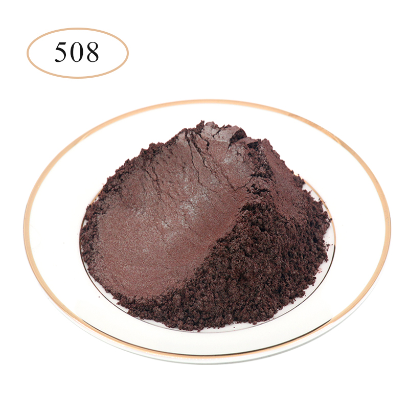 Type 508 Pearl Powder Pigment   Mineral Mica Powder DIY Dye Colorant For Soap Automotive Art Crafts Mica Pearl Powder 10g/50g