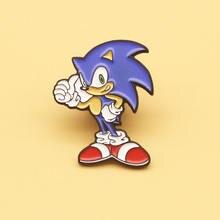 Sp296 Ежик с изображением мультипликационного персонажа Жесткий