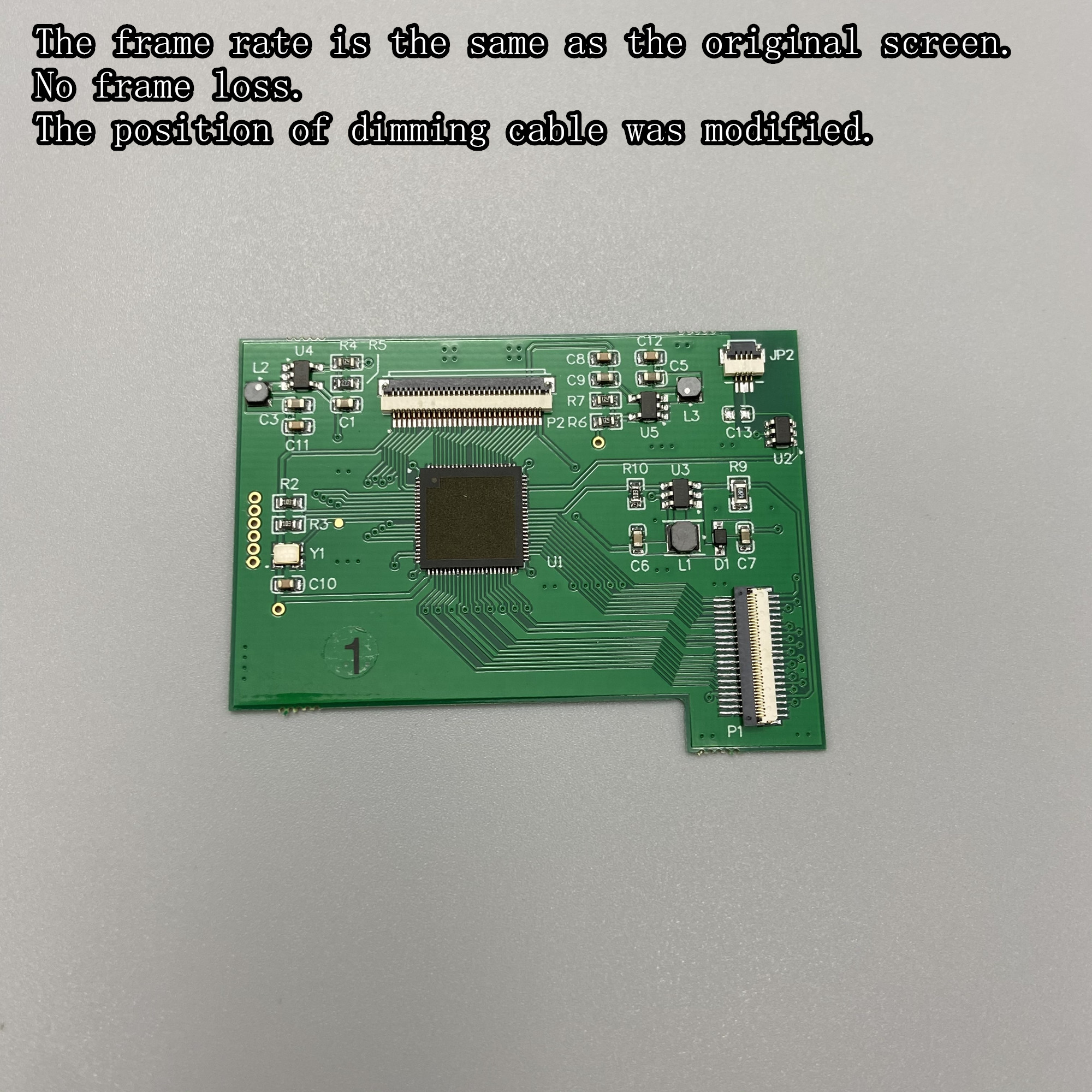 Lcd-Screen Shell Gameboy-Color Cutting. Gbc Lcd for Gbc-Plug And Play Without Welding