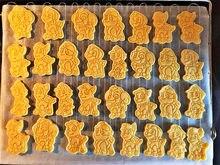 Truest-cortador de pata de Paw para pastel, conjunto de cortadores de galletas, molde de plástico 3D para hornear, herramientas de decoración
