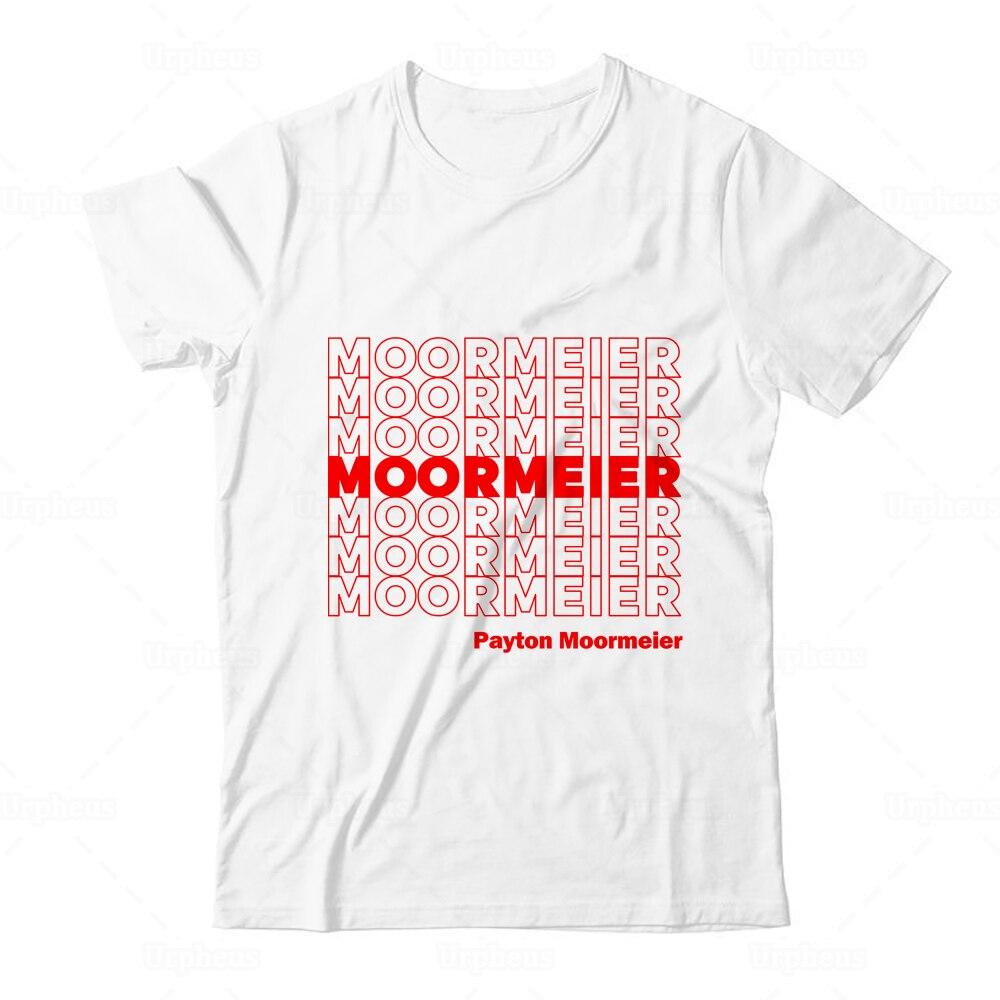 Camiseta de Merch de paitton Moormeier camisetas gráficas de repetición de Moormeier