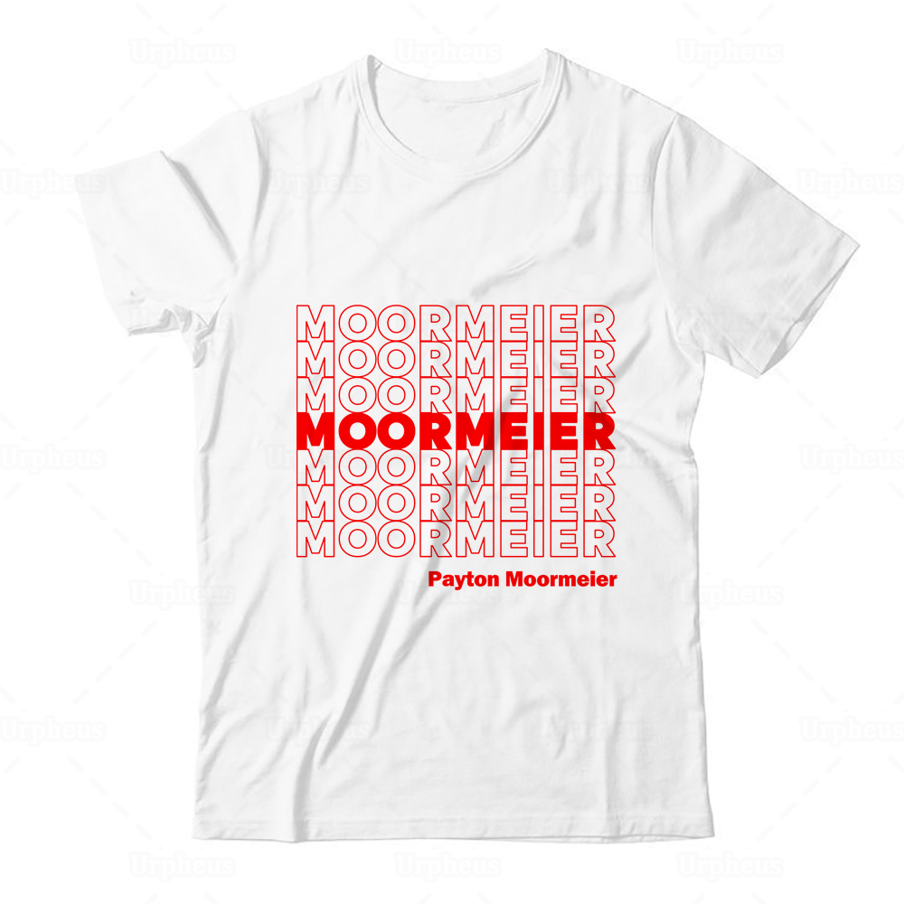 Payton Moormeier Merch T Shirt Moormeier Repeat Graphic Tees Shirt