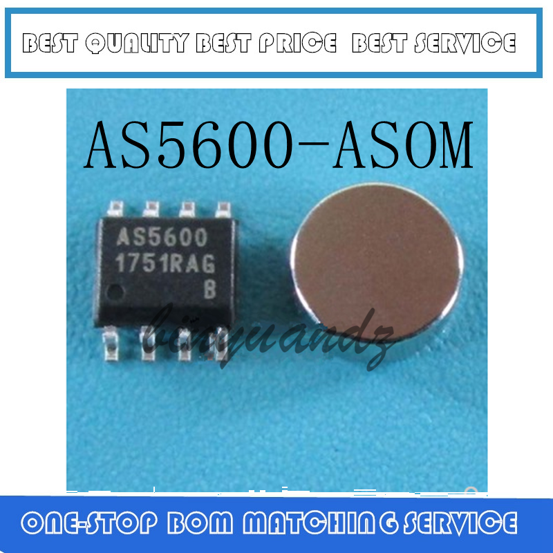 5PCS~20PCS AS5600 AS5600-ASOM SOP-8 Magnetic Encoder With Magnet Original Authentic And New In Stock Free Shipping IC